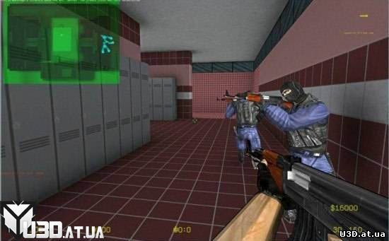 Counter Strike in Unity3D. Free Project