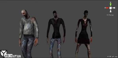 Zombies Characters Pro