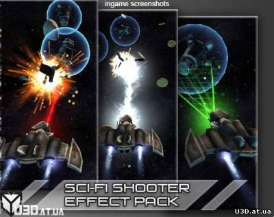 Sci-fi Spaceship Effect Pack