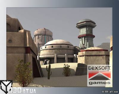 Sci-Fi Desert Buildings