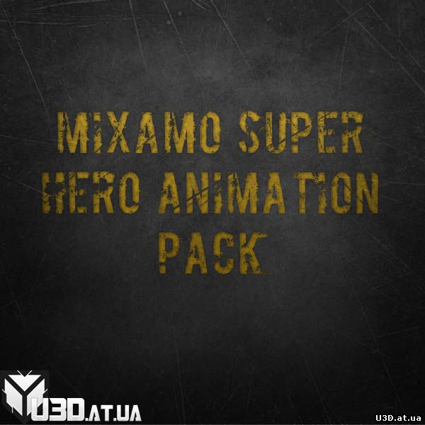 Mixamo Super Hero Animation Pack