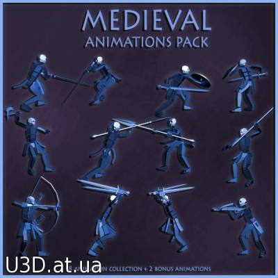 Medieval Animations Pack
