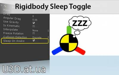 Rigidbody Sleep Toggle
