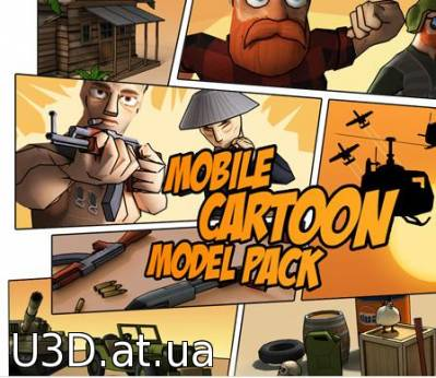 Mobile Cartoon Model Pack