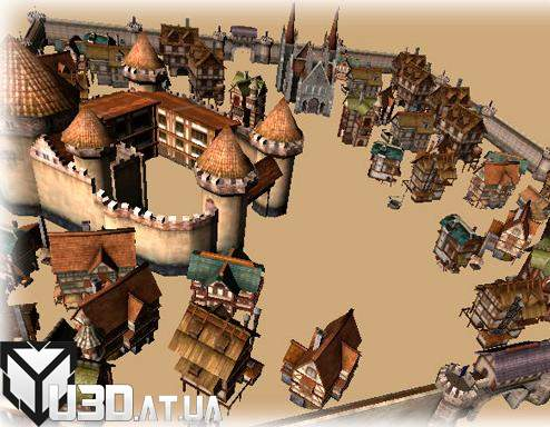 Medieval Europe Buildings pack