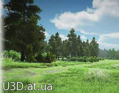 Realistic Forest Pack версия 0.1