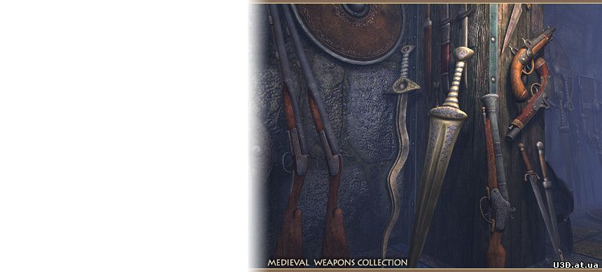 Medieval Weapons Collection версия 1.0