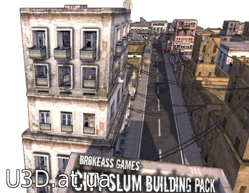 City Slum Building Pack