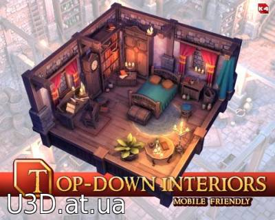 Top Down Interiors Pack