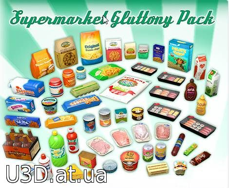 Supermarket Gluttony Pack