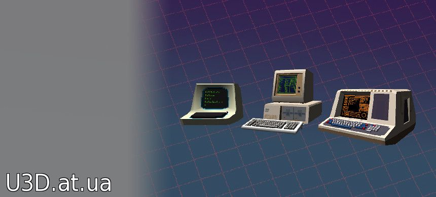 Low Poly Retro Computers версия 0.1