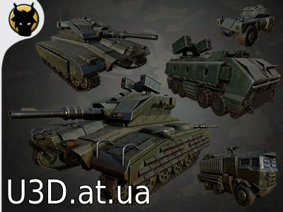 Realistic Military Vehicles Pack