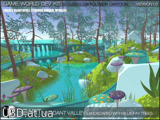 Verdant Valley - Stylized Nature Pack