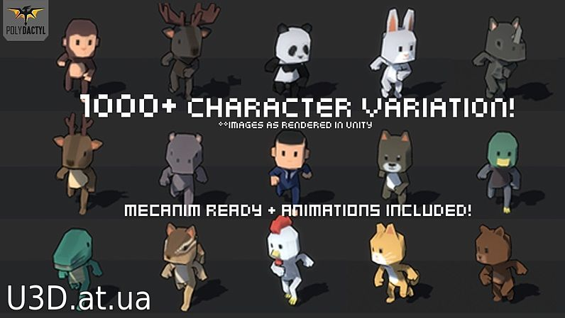 1000+ Character Pack v1