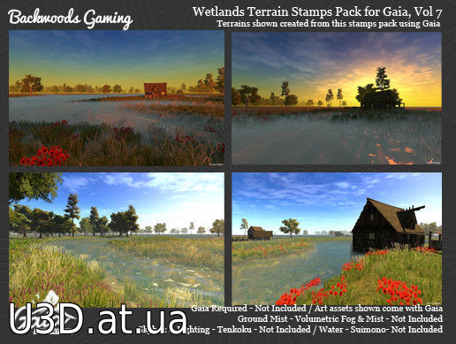 Gaia Stamps Pack Vol 07 – Wetland Area v1.0.3
