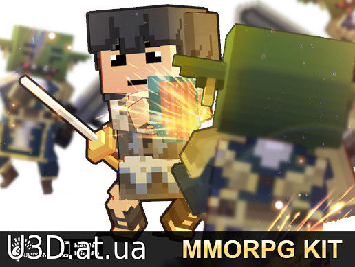 MMORPG KIT (2D/3D/Survival) v1.36