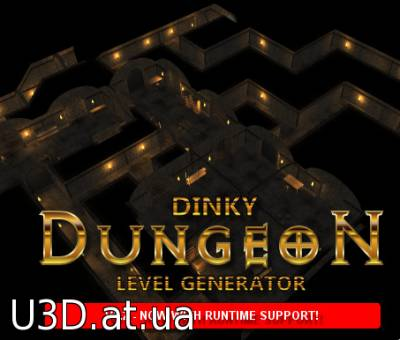 Dinky Dungeon Level Generator